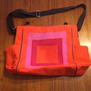 Dantebeatrix color block diaper bag